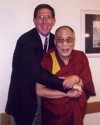 Richard With the Dalai Lama